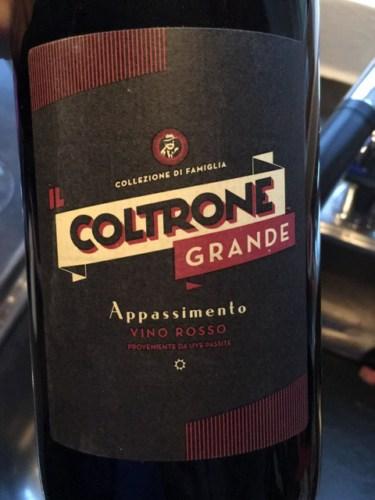 Il Coltrone Appassimento Grande Vino Rosso | Wine Info