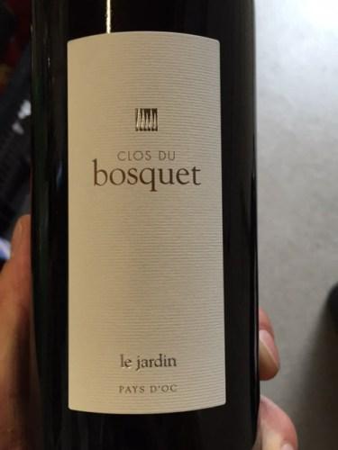 Clos du bosquet le jardin rouge 2014 wine info for Jardin du nil wine price