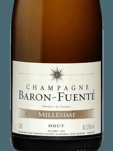 Champagne baron fuente millesime 2008
