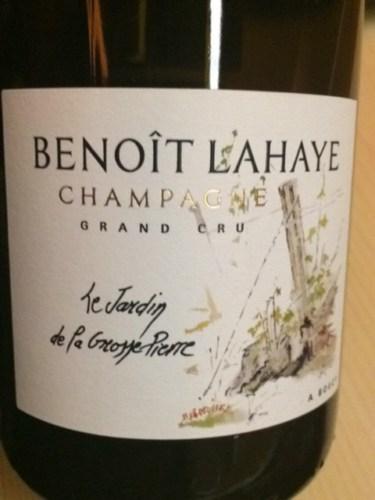 Benoit lahaye champagne a bouzy le jardin de la grosse for Grand jardin wine