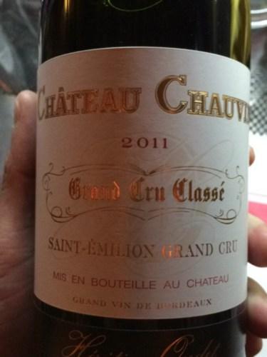 ch teau chauvin saint milion grand cru class 2011 wine. Black Bedroom Furniture Sets. Home Design Ideas
