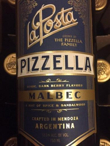 La Posta Malbec Pizzella Family Vineyard 2014 Wine Info