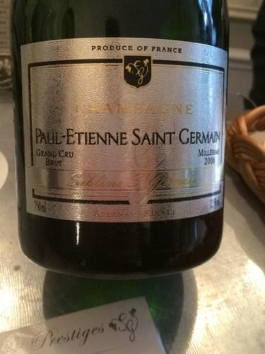 Champagne paul etienne saint germain champagne sublime st for Bar a champagne saint etienne
