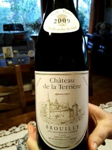 Ch teau de la terriere brouilly 2009 wine info for Brouilly chateau de la chaise