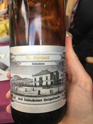 Dr deinhard deidesheim scheurebe 2010 wine info for Deinhard wine