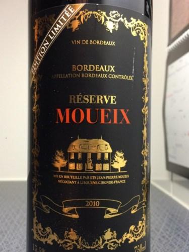 maison moueix bordeaux reserve edition limitee 2010 wine info