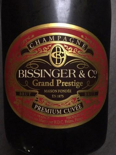 & Bissinger \u0026 Co Champagne Grand Prestige Premium Cuvée Brut   Wine Info