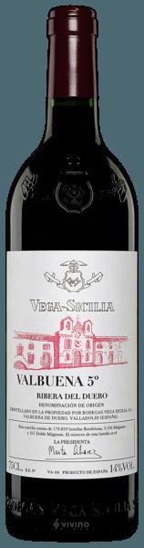 2013 Vega Sicilia Valbuena 5º Vivino