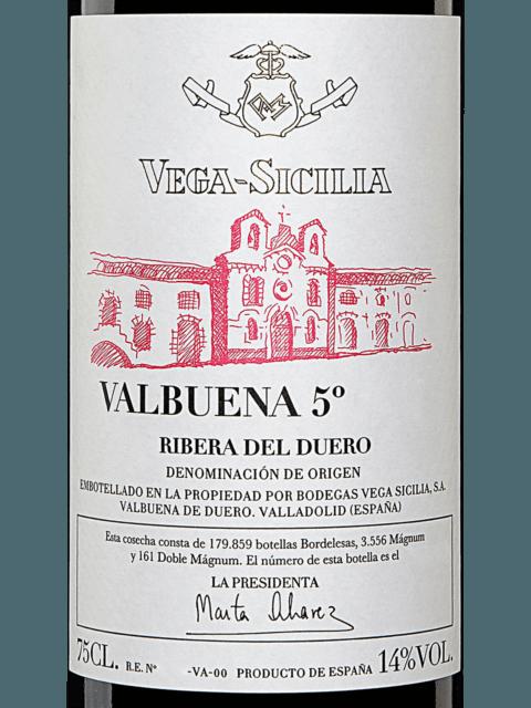Vega Sicilia Valbuena 5º Vivino