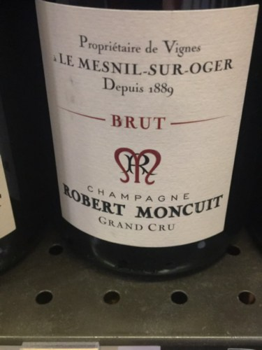 Robert moncuit le mesnil sur oger extra brut grand cru blanc de blancs 1991 wine info for Salon blanc de blancs le mesnil sur oger