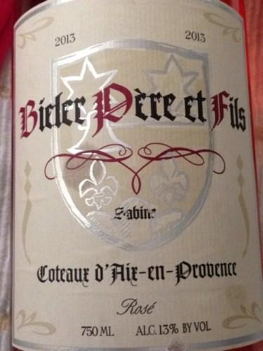 Bieler P 232 Re Et Fils Sabine Ros 233 2013 Wine Info