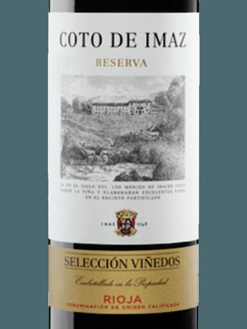 2015 El Coto Coto De Imaz Rioja Selección Viñedos Reserva Vivino