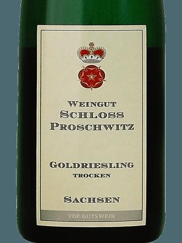 Proschwitz Weihnachtsmarkt.Weingut Schloss Proschwitz Goldriesling Trocken