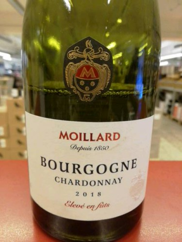 Moillard Bourgogne Chardonnay   Wine Info