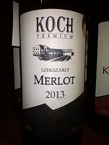 Koch premium szeksz rdi merlot 2013 wine info for Koch 3 winde