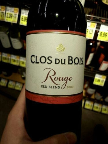 Clos du bois marlstone red blend 2000 wine info for Clos du bois
