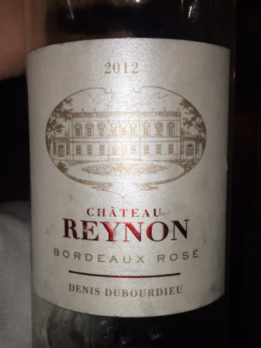 Ch teau reynon bordeaux ros 2014 wine info for Chateau reynon