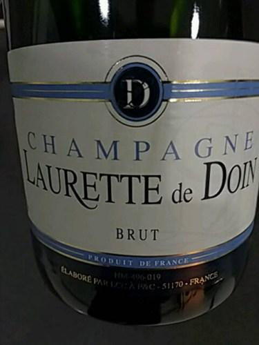 champagne laurette de doin
