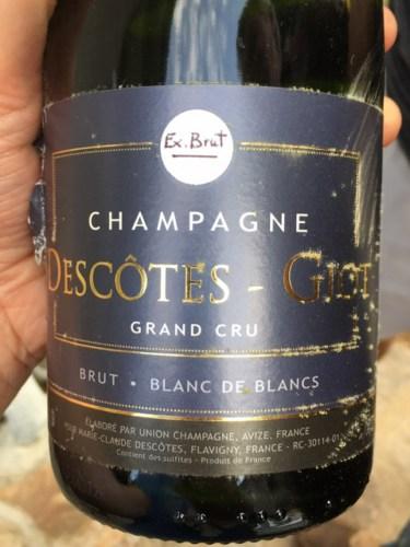 Descotes Flavigny Giot Champagne Blanc De Blancs Brut Grand Cru ...
