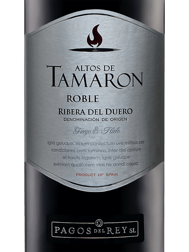 2015 Altos De Tamarón Roble Ribera Del Duero Vivino