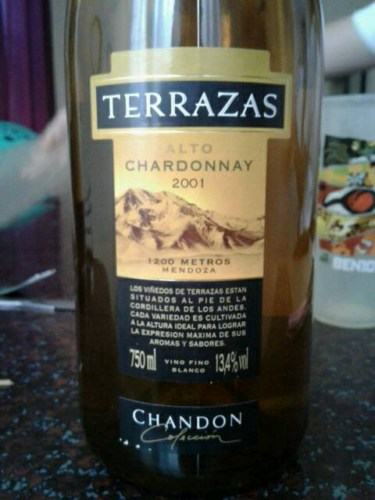 Terrazas De Los Andes Alto Chardonnay Wine Info
