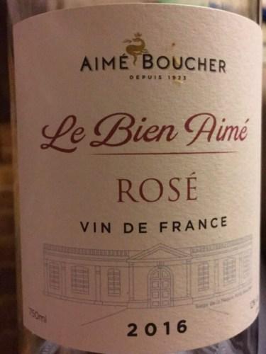Aimé Boucher Le Bien Aimé Rosé