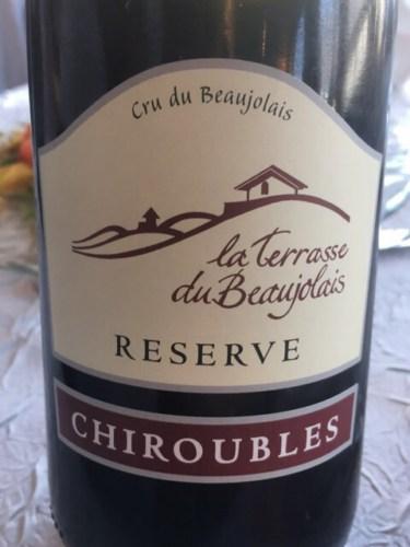 Chiroubles Reserve La Terrasse Du Beaujolais Cru Du
