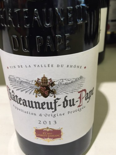 how to say chateauneuf du pape