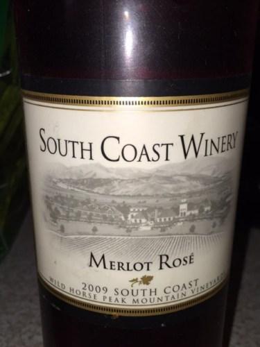 South Coast Merlot Ros 233 2009 Wine Info