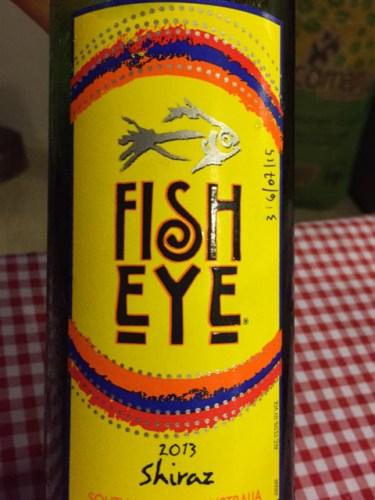 Fish eye shiraz 2015 wine info for Fish eye wine