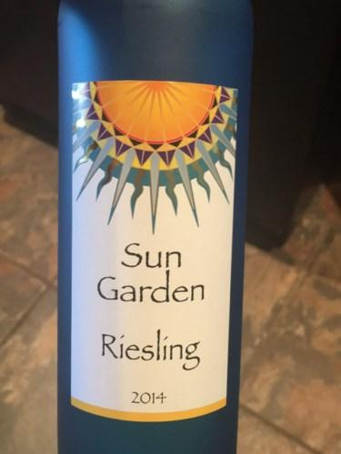Sun garden riesling 2014 wine info Sun garden riesling