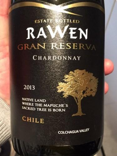 Image result for Rawen Gran Reserva Chardonnay