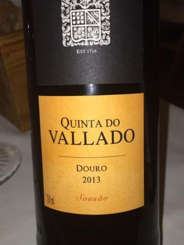 Quinta do vallado sous o douro 2013 wine info - Quinta do vallado ...