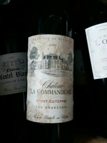 La commanderie de peyrassol saint est phe cru bourgeois 2007 wine info - La commanderie de peyrassol ...