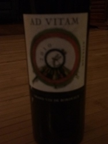 ad vitam aeternam 2010 wine info