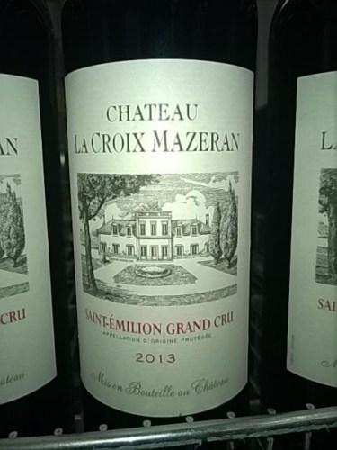 ch teau la croix mazeran saint emilion grand cru 2013 wine info
