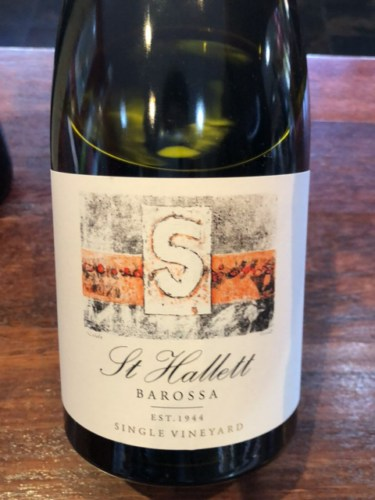 St hallett wyncroft single vineyard shiraz