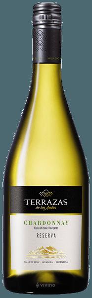 Terrazas De Los Andes Reserva Chardonnay 2018