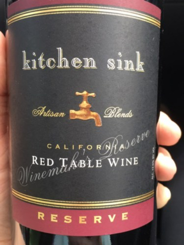 Kitchen Sink Reserve Red Table