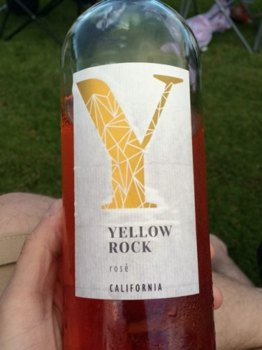 Yellow Rock California Rose Wine Info