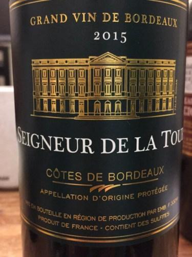 Seigneur De La Tour Cotes De Bordeaux