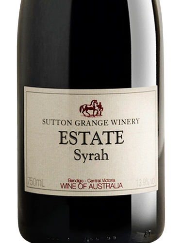 Sutton Grange Estate Syrah Wine Info