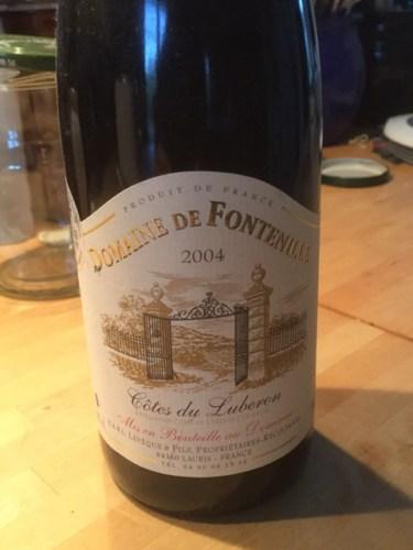 Ch teau de fontenille c tes du luberon 2004 wine info for Jardin du nil wine price