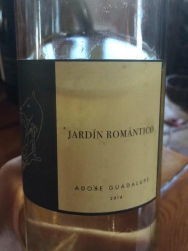 Adobe guadalupe jard n rom ntico 2014 wine info for Jardin du nil wine price