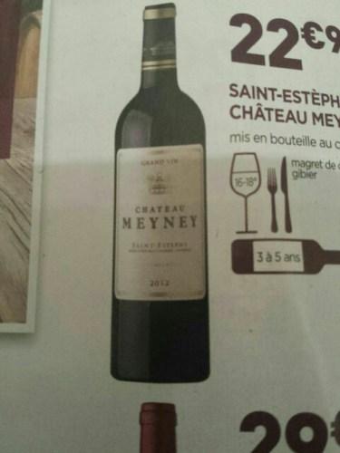 Ch teau meyney saint est phe 2012 wine info for Chateau meyney
