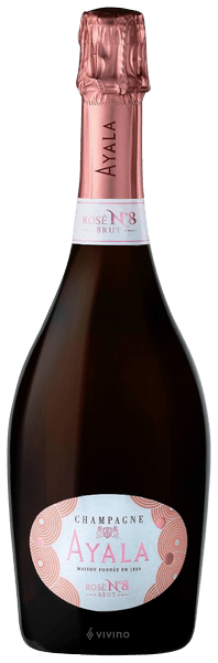 N.V. Ayala Rosé No. 8 Brut Champagne | Vivino
