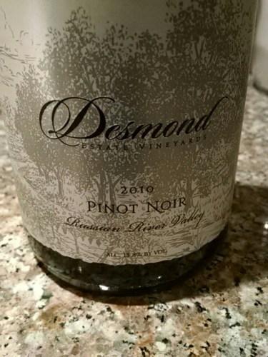 Desmond Russian River Valley Pinot Noir 2010 | Wine Info