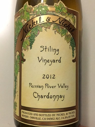 nickel nickel stiling vineyard chardonnay 2012 wine info. Black Bedroom Furniture Sets. Home Design Ideas