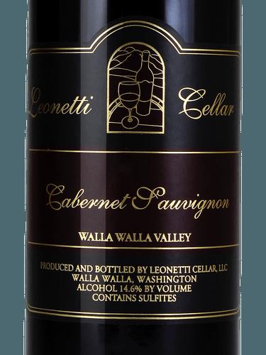 Leonetti Cabernet Sauvignon 2002