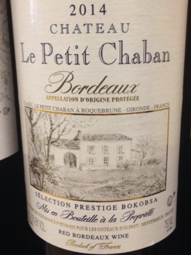 Ch teau le petit chaban bordeaux 2014 wine info - Les petits hauts bordeaux ...